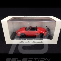 Porsche 987 Boxster Spyder 2005 Guards red 1/43 Minichamps PD04311007