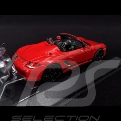 Porsche 987 Boxster Spyder 2005 rouge Indien 1/43 Minichamps PD04311007 guards red Indischrot