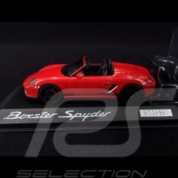 Porsche 987 Boxster Spyder 2005 Indischrot 1/43 Minichamps PD04311007
