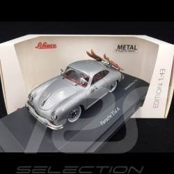 Porsche 356 A 1956 silver with water skis 1/43 Schuco 450269000