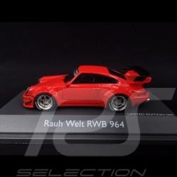 Porsche 911 type 964 RWB Rauh-Welt rouge 1/43 Schuco 450911300