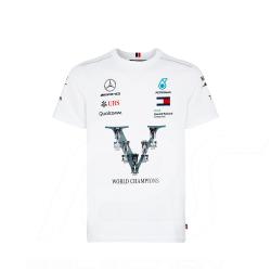 Mercedes T-shirt AMG Motorsport World Champions Weiß Mercedes-Benz B67996595 - Herren
