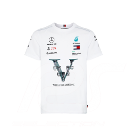T-shirt Mercedes AMG Motorsport World Champions Blanc Mercedes-Benz B67996595 - homme
