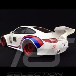 Porsche 911 typ 997 Old & New Kit 935/78 look n° 118 1/18 GT Spirit GT796