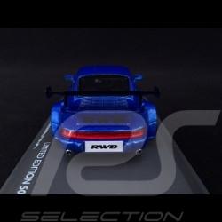 Porsche 911 type 964 RWB Rauh-Welt blau 1/43 Schuco 450911400