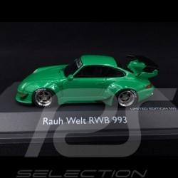 Porsche 911 type 993 RWB Rauh-Welt vert 1/43 Schuco 450911700