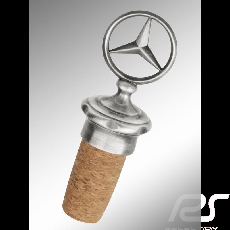 Bouchon à vin Mercedes Classic en liège Sculpture étoile Mercedes-Benz B66041534 cork wine stopper Weinverschluss