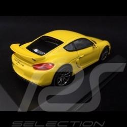 Porsche Cayman GT4 jaune racing 1/43 Schuco WAP0204020F speed yellow speedgelb
