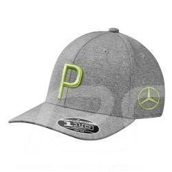 Mercedes Puma golf cap polyester Grey Mercedes-Benz B66450306