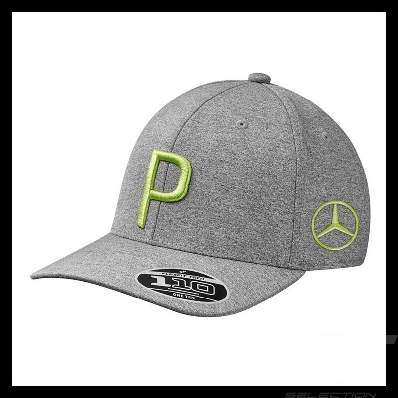 Casquette cap Kapp Hat de golf Mercedes Puma polyester Gris Mercedes-Benz B66450306