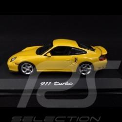Porsche 911 Turbo type 996 2000 jaune vitesse 1/43 Minichamps WAP02006310 speed yellow speedgelb