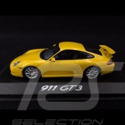 Porsche 911 GT3  type 996 ph 2 2003 jaune vitesse speed yellow speedgelb 1/43 Minichamps WAP02009613