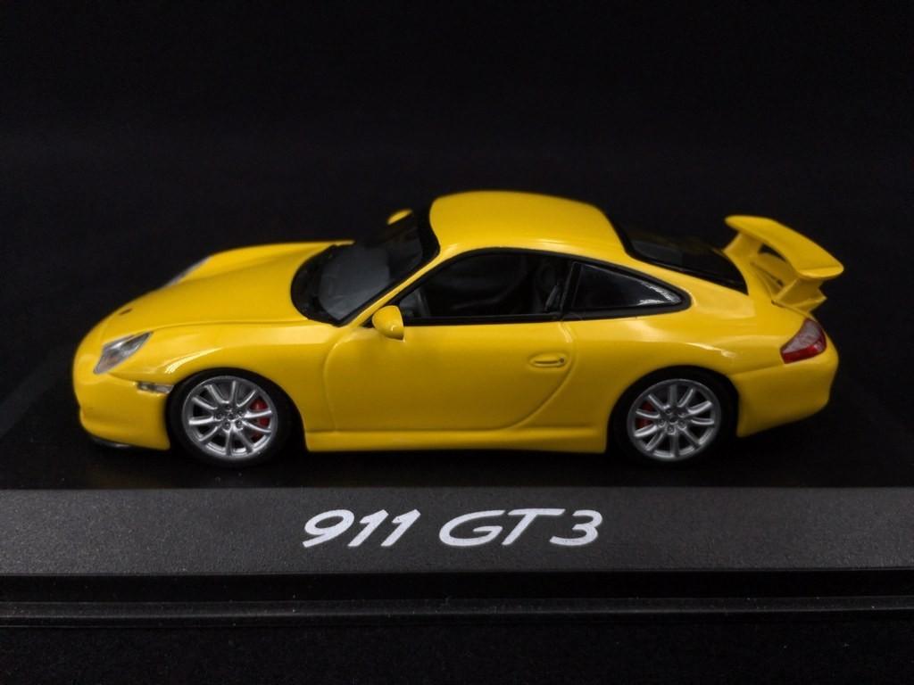 Porsche 911 Gt3 Type 996 Ph 2 2003 Speed Yellow 1 43 Minichamps Wap02009613 Selection Rs