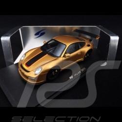 Porsche 911 Ruf RT 12R type 997 2011 Or Gold noir black schwarz 1/43 Spark S2175