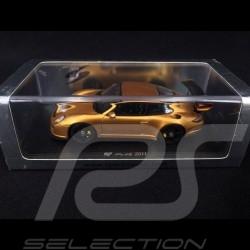 Porsche 911 Ruf RT 12R type 997 2011 Gold / black 1/43 Spark S2175