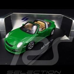 eRUF Greenster Porsche base 997 Roadster 2009 green 1/43 Spark S0745