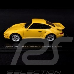 Porsche 911 type 964 Turbo S flatnose 1992 1/43 Spark CA04312007 jaune Vitesse Speed yellow Speedgelb