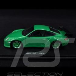 Porsche 911 RUF RGT type 997 2006 green 1/43 Spark S0715