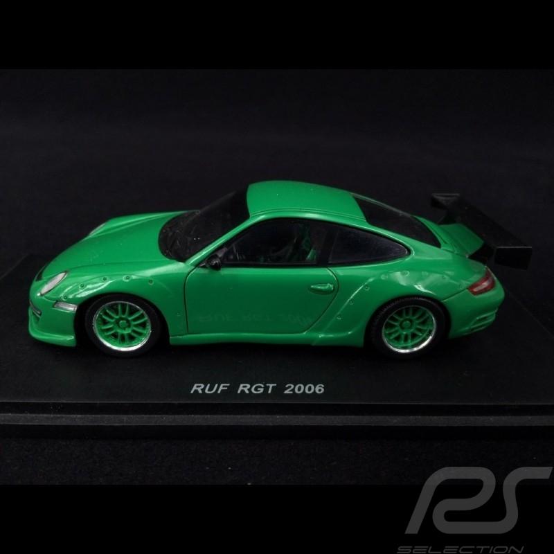 Porsche 911 RUF RGT type 997 2006 grün 1/43 Spark S0715