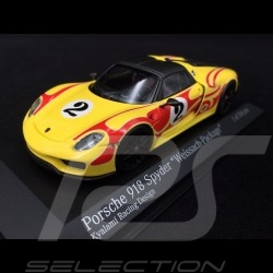 Porsche 918 Spyder 2015 n° 2 Package Weissach Kyalami Racing Design 1/43 Minichamps 410062134