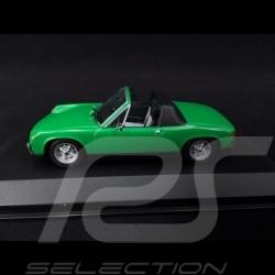 Porsche 914 1969 verte 1/43 Minichamps 430065662