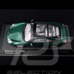 Porsche 911 Targa type 996 2001 Jungle green 1/43 Minichamps 400061062