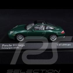Porsche 911 Targa type 996 2001 Dschüngelgrün 1/43 Minichamps 400061062