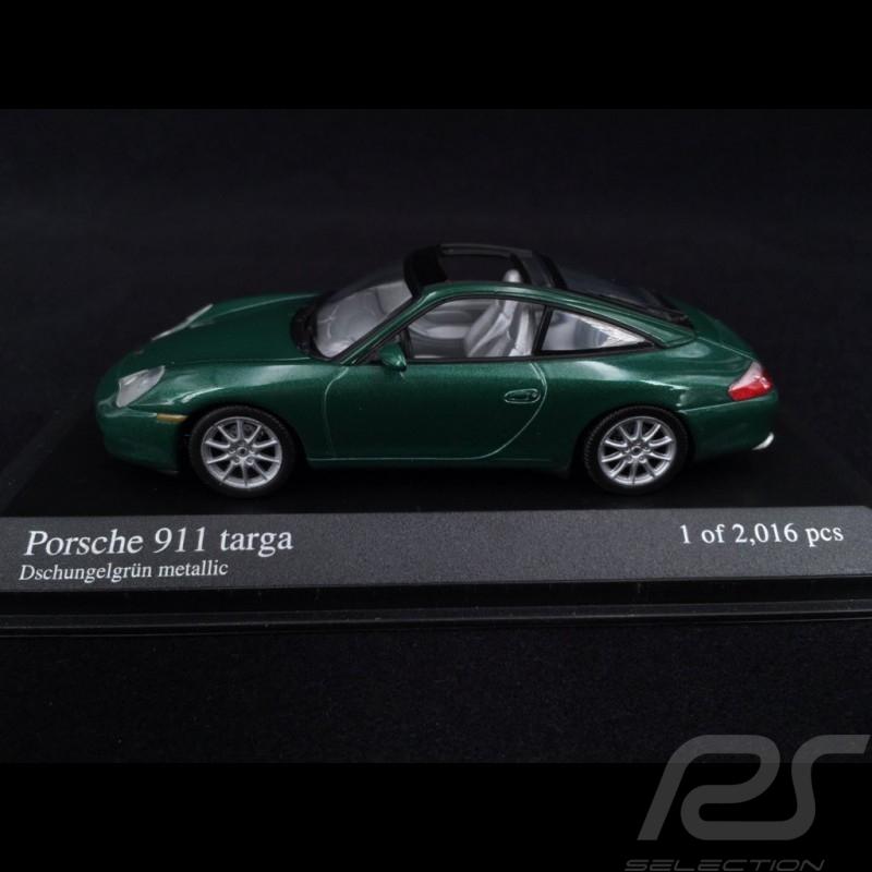 Porsche 911 Targa type 996 2001 Vert jungle green 1/43 Minichamps 400061062 dchungrlgrun