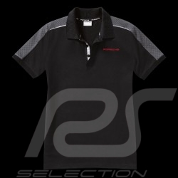Polo Porsche Racing Collection black grey red WAP451 - Men