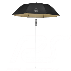 Mercedes beach umbrella Large size Manual opening Polyester Black Mercedes-Benz B66954748