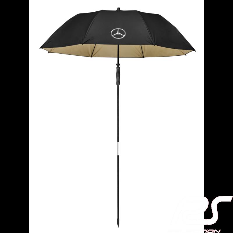 Mercedes beach umbrella Large size Manual opening Polyester Black Mercedes-Benz B66954748