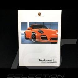 Brochure Porsche Tequipment 911 Accessoires pour les modèles 911 2012 ref WSL71401000930