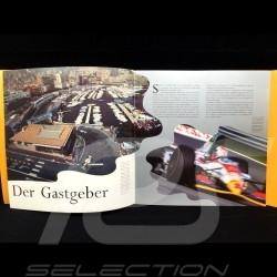 Brochure Broschüre Porsche Porsche Supercup 1993 en allemand