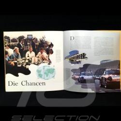 Broschüre Porsche Porsche Supercup 1993 in Deutsch