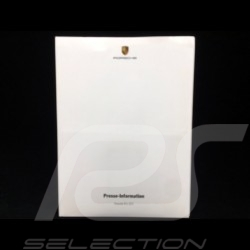 Dossier presse press-kit Pressemappe  Porsche 911 GT3 (996 phase II) 2003 en allemand