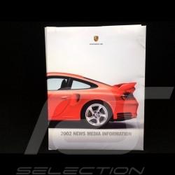 Press kit Porsche range 2002 Canada / USA language English