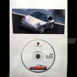 Pressemappe Porsche Porsche Baureihe 2002 Canada / USA Sprache Englisch