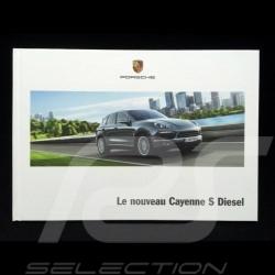 Broschüre Porsche Neue Cayenne S Diesel 2012 ref WSLE1301000430