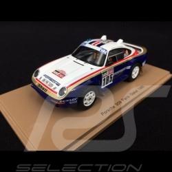 Porsche 959 n° 185 Paris - Dakar 1985 with Rothmans decals 1/43 Spark S7817