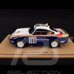 Porsche 959 n° 185 Paris - Dakar 1985 with Rothmans decals 1/43 Spark S7817