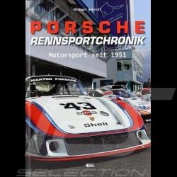 Buch Porsche Rennsportchronik - Motorsport seit 1951