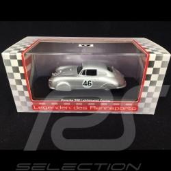 Porsche 356 Coupé n° 46 light alloy Le Mans 1951 1/43 Dingler Models 015590