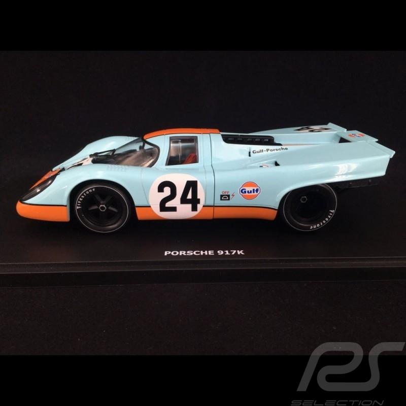 Porsche 917 K Sieger 1000km Spa 1970  N° 24 JWA Gulf 1/18 CMR CMR131-24