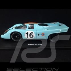 Porsche 917 K Winner 1000km Zeltweg 1971 n° 16 JWA Gulf 1/18 CMR CMR146-16-24
