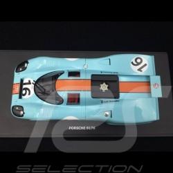 Porsche 917 K Sieger 1000km Zeltweg 1971 n° 16 JWA Gulf 1/18 CMR CMR146-16