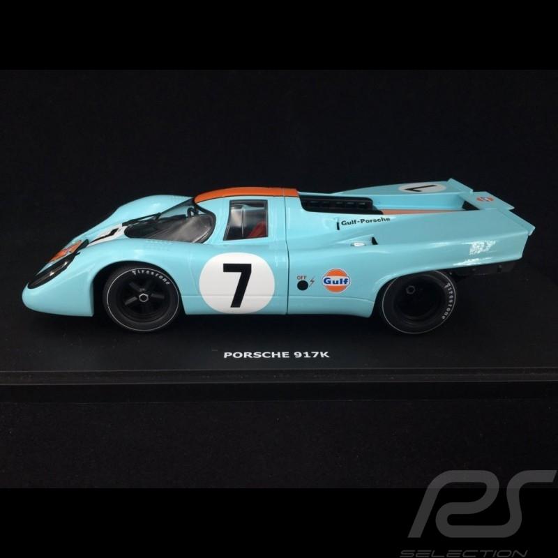 Porsche 917 K Sieger 1000km Monza 1970 n° 7 JWA Gulf 1/18 CMR CMR146-7