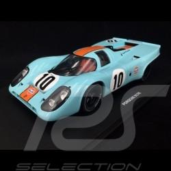 Porsche 917 K Vainqueur Winner Sieger 1000km Brands Hatch 1970 n° 10  JWA Gulf 1/18 CMR CMR146-10