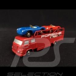 Set Porsche 550 Spyder und MAN 415 LKW 1/90 Schuco 450589600