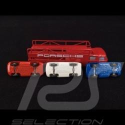 Set Porsche 550 Spyder and MAN 415 Trailer 1/90 Schuco 450589600
