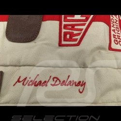 Sac de voyage Travel bag Reisetasche Gulf Steve McQueen Le Mans Beige Coton / cuir